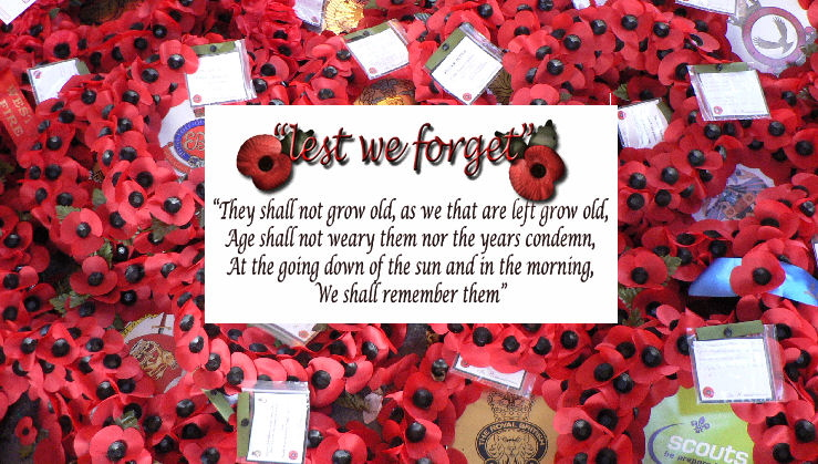 Poppy wreaths + Lest we forget